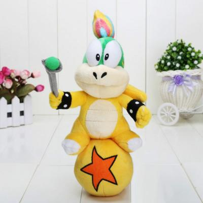 Creative Super Mario Bros Bowser 25 cm Plush Toy kawaii Koopa Stuffed Animal toys doll Children Christmas gift