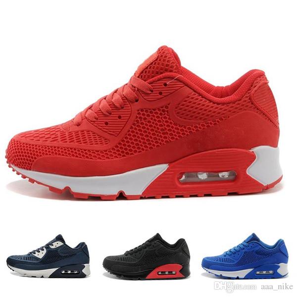 1a39ee0bfa84 Большая скидка горячая распродажа runningl обувь подушка Alr 90 КПУ мужские  классические 90 повседневная обувь кроссовки