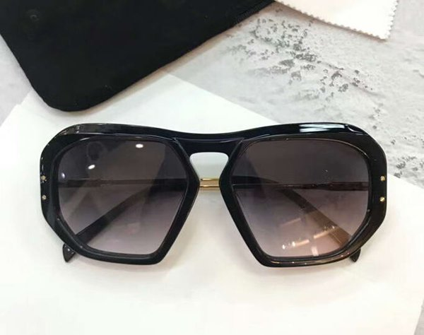 cl400251 Square Sunglasses Black Grey Gradient 61mm Sonnenbrille luxury brand designer sunglasses designer glasses New with box
