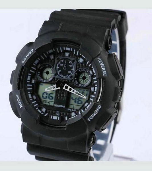 Лучший подарок Повседневный резиновый ремешок Электронные часы Лучший бренд Мужские часы Мужские наручные часы Relogio Masculino Дешевые часы Reloj Zeland max
