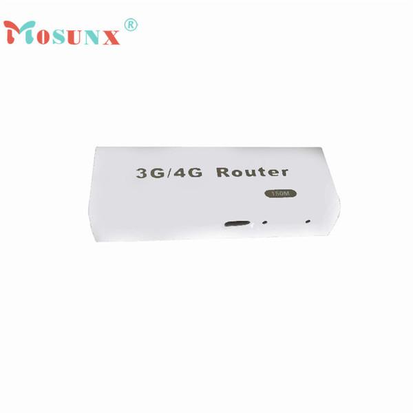 Ecosin2 Mosunx 3G/4G WiFi Wlan Hotspot AP Client 150Mbps RJ45 USB Wireless Router 17Mar13