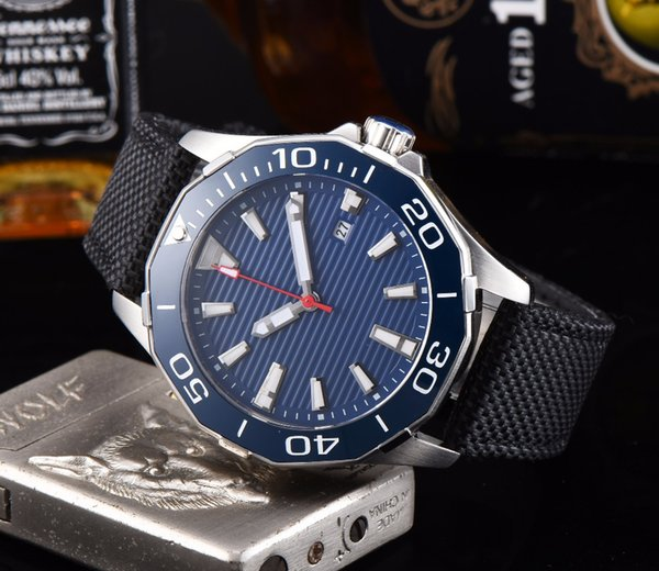 CORGEUT Watch Sapphire Crystal Bezel Blue Dial 45mm Illuminated Date PVD Deluxe Miyota 8215 Automatic Winding Men's C12
