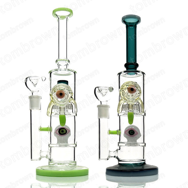 Best Online Headshop 2020.2019 Best Selling Oil Rigs Water Bongs 14mm Female Joint Water Perc Pipe Bongs With Percolator Bongs Big Bong Tall Glass Bong From Tombrown 53 81
