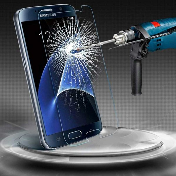 For Samsung Galaxy Note5 Film Tempered Glass Screen Protector 9H 2.5D Anti-Fingerprint Coating for Samsung S7 edge S7 active Galaxy Note 4