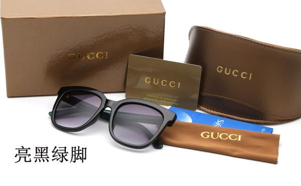 High-end güneş gözlüğü erkekler ve kadınlar yeni polarize güneş gözlüğü sürüş gözlük defile marka kedi gözü güneş gözlüğü UV400