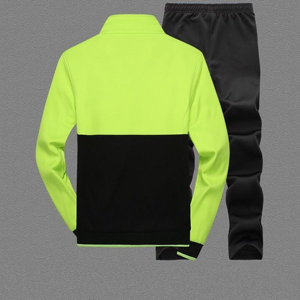 Amberheard Nouvelle Mode Printemps Automne Hommes Sporting Suit Hoodies + Pantalon Survêtement Deux Pièces Ensemble Survêtement Ensemble Pour Hommes Vêtements
