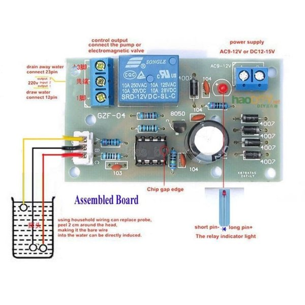 Freeshipping 5v Liquid Level Controller Sensor Module Water Level Detection Sensor pressure