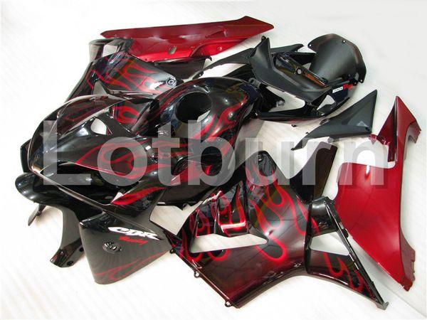 Moto Injection Molding Motorcycle Fairing Kit Fit For Honda CBR600RR CBR600 CBR 600 2005 2006 05 06 F5 Bodywork Fairings Custom Made A210