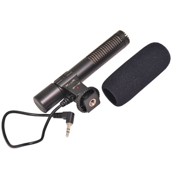 3.5mm Mic-01 Recording Microphone Digital Microphone for Canon/Nikon/Sony/Pentax/Panasonic/Olympus/Samsung Digital Camera