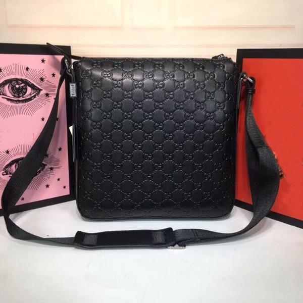 2018 uomini famosi di marca borsa valigetta affari casuali del cuoio genuino degli uomini del sacchetto del messaggero degli uomini dell'annata borsa a tracolla Bolsas maschile portafogli