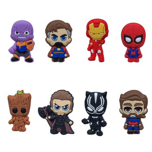 Avenger Infinity Savaşı Yüksek Kalite Sıcak Buzdolabı Mıknatısları Karikatür PVC Moda Aksesuarı Buzdolabı Mıknatıslar Manyetik Çıkartm ...