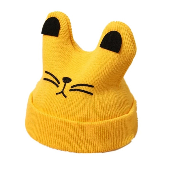 Baby hats autumn winter 1-3 year old baby hats girls thickened warm wool winter children hats male tide