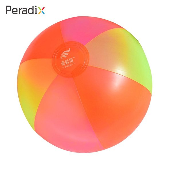 Inflation PVC Kids Beach Inflatable Water Ball Beach Ball Cute Entertainment Inflatable Funny Summer Pool