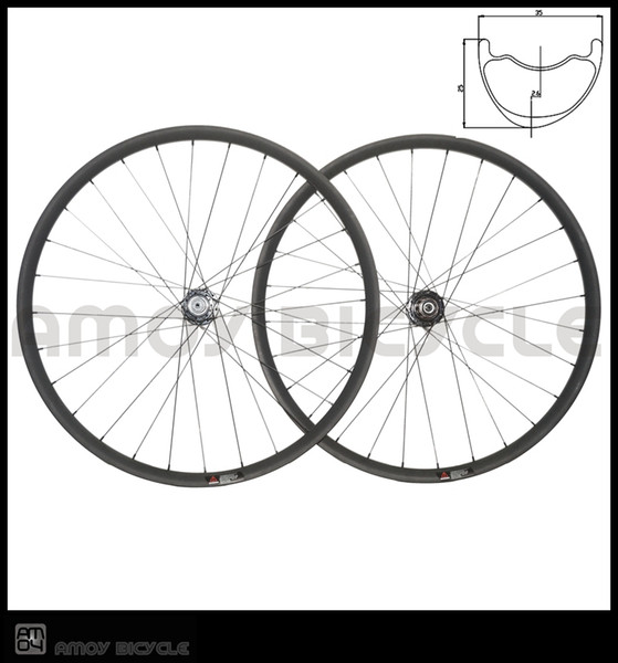 Rims For Cheap >> Smooth Fast Forward Carbon Mtb Wheelset Crossmax 29er Am Asymmetrical 35 25mm Bicycle Wheels Offset Rims For Enduro Racing 24 Bike Wheels Cheap