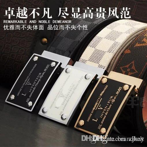 Wild personality Men's belt tiger head pattern metal buckle strap male 100% genuine leather designer belt western cowboy style belt gif
