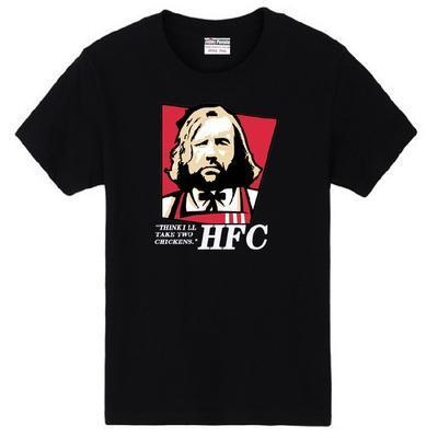 Fried Chicken The Hound I THINK I'LL TAKE TWO CHICKENS HFC Game of Thrones couple clothes man cotton T-shirt
