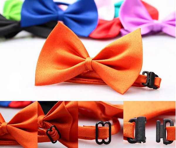 Dog Neck Tie Pet Bowties Genteel Bowknot Handsome Cat Ties Collars Pet Grooming Supplies Dog Clothing Apparel Pet Accessories DHL shipping