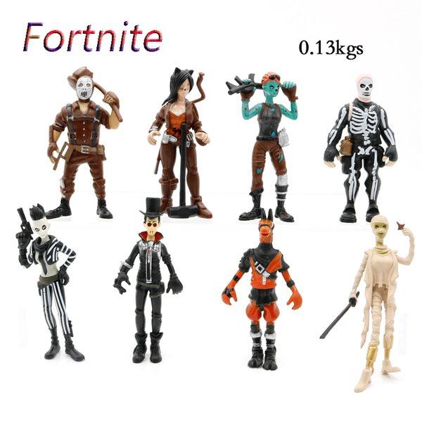 8 Style Plastic Doll toys 2018 Funko POP New kids 10cm Cartoon game llama skeleton role Action Figures Kids Toy