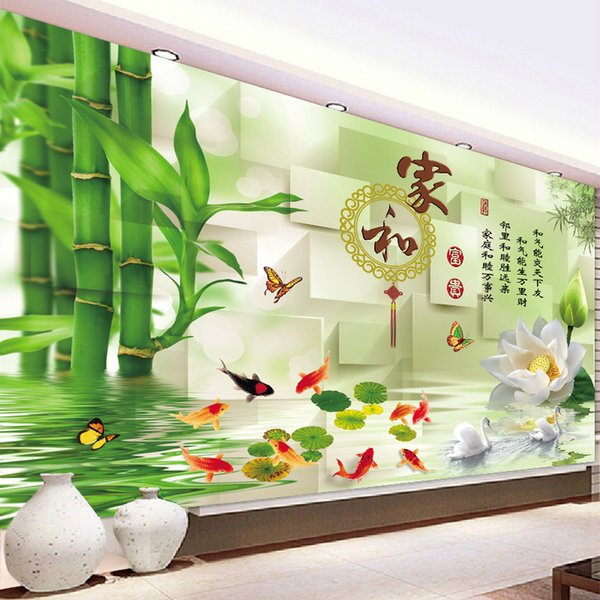 2018 New Pattern Diamonds Draw A Drill And Riches And Honour Cross Embroidery A Living Room Stick Drill Nine Fish 5D Masonry Excellent Bedro