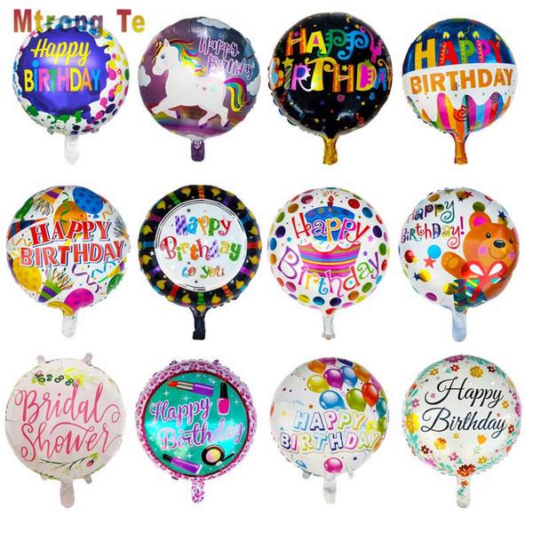 Große alles gute zum Geburtstag Kuchen Form Folie Helium Ballon Geburtstag Party