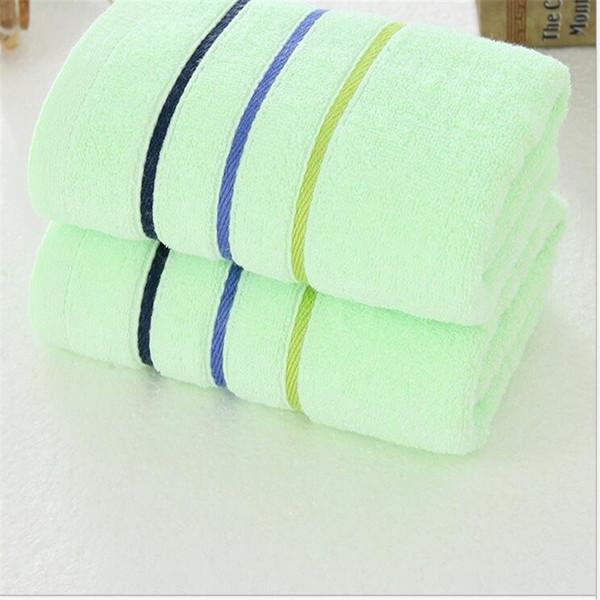 % 100 pamuklu jakarlı havlu / çizgili havlu / yetişkin çocuk havlu boyutu 34 * 75 cm