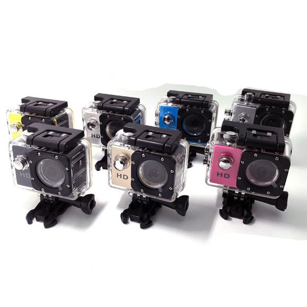 SJ4000 freestyle 2inch LCD 1080P Full action camera 30 meters waterproof DV camera sports helmet SJcam DVR00