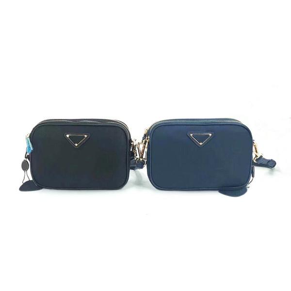 Venta al por mayor al por menor de moda de lujo clásico bolso de paracaídas de nylon impermeable Oxford tela casual colgado hombro pequeño bolso cuadrado bolsa de embrague