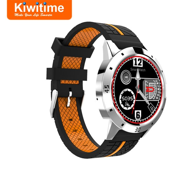 KIWITIME KT96 Smart Watch Connected Sport Wristwatch Women Men's Smartwatch for iOS Android Phone