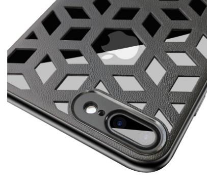 New luxury case for iphone XR XS MAX X 6S 7 8 plus cell phone case cover slim soft grid cover