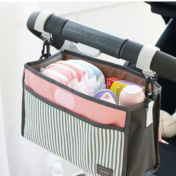 1PC Multifunction Waterproof Diaper Bag Large Capacity Suits For Mom Baby Bottle Holder Mother Stroller Storage Nappy LA978307