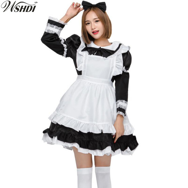 halloween costumes sale for adults promo codes hot sale sexy french maid costume sweet gothic