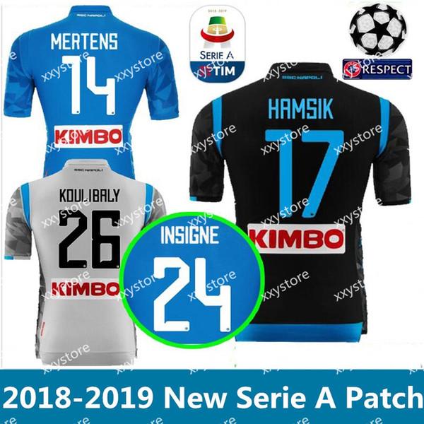 camisetas de futbol Napoli nuevo