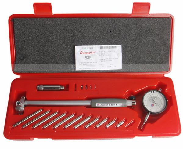 top popular Freeshipping Dial Bore Gauge 50-160mm 0.01mm Center Ring Dial Indicator Micrometer Gauges Measuring Tools 2021