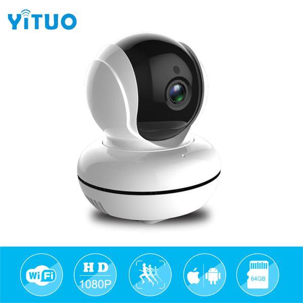 1080P HD Night Vision CCTV Home Security Camera Wifi Wireless Cam Video Webcam Motion Detection CCTV P2P IR-Cut IP Camera YITUO
