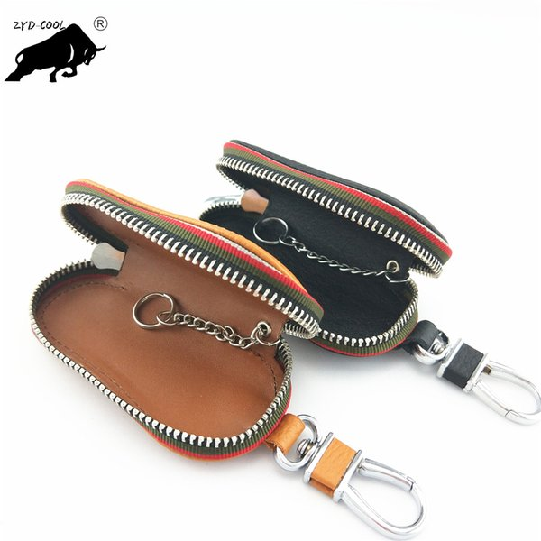 Famosa Marca H Couro Genuíno Bolso Da Moeda Das Mulheres bolsa de Couro carteira Zipper Bag chaves saco de bolso titular Real Imagens Fábrica Atacado