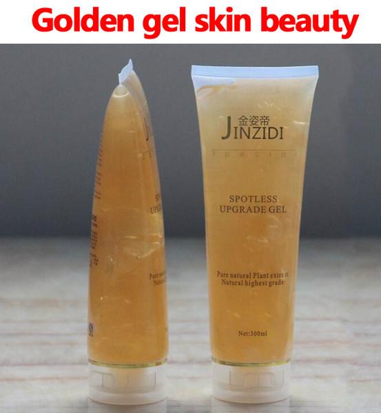 Altın jel cilt güzelliği