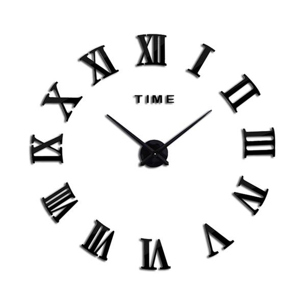 Großhandel Circular Acryl Wanduhr Home Decor Uhr Wohnzimmer Quarz Dekoration Moderne Wanduhren Diy Moderne Kostenloser Versand Von Roberte 44 71 Auf