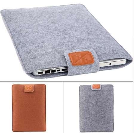 Woolfelt Abdeckungs-Fall 11 13 15 Zoll-schützende Laptop-Tasche / Hülse für Apple Macbook Air Pro Retina-Laptop-Kasten-Abdeckung für Xiaomi