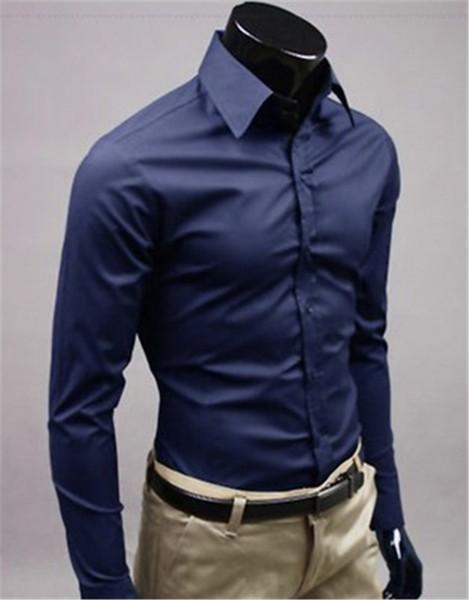 New Fashion Brand Nvry blue Groom Shirts Long Sleeve Shirt Men Slim Design Formal Casual Male Dress Shirt Size M-5XL (C8002)