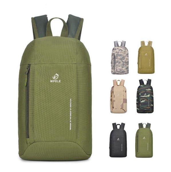 10L Ultra Light Unisex Outdoor Camouflage Rucksack Reisetasche Wandern Radfahren Gym Rucksack Freizeittasche Tasche 12 Farben DDA729