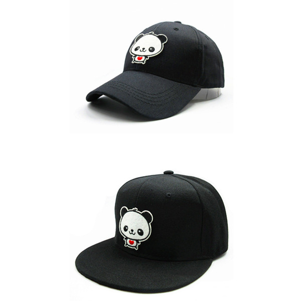 LDSLYJR 2018 Cartoon panda embroidery cotton Baseball Cap hip-hop cap Adjustable Snapback Hats for kids and adult size 178