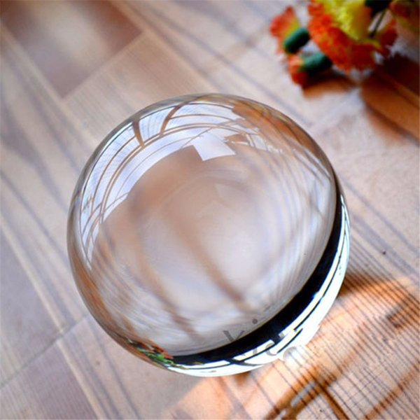 Photography home Crystal Glass Ball Photography Earth No Scratch Magic Gem Ball Crafts