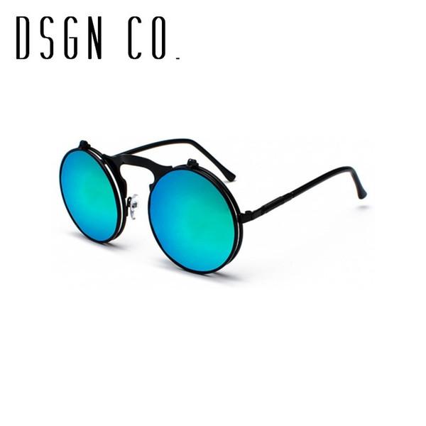 Cadre noir Vert Bleu Lens