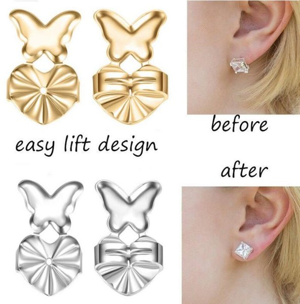 top popular 2018 New Fashion Magic Bax Earring Backs Support Earring Lifts Fits All Post Earrings free shipping 2019