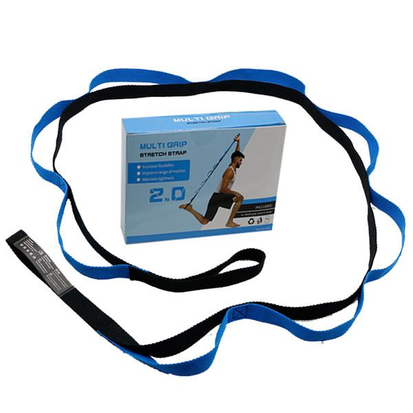 2 Meters Multi Grip Stretche Strap Anti-gravity Chrysanthemum Rope Jump Stretch Belt Yoga Band Aerial Yoga Hammock Accessories