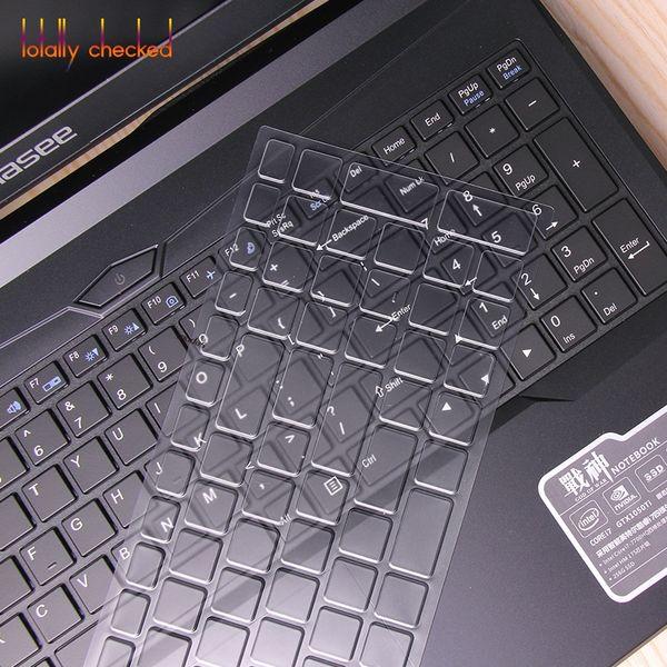 Ultra thin TPU laptop Keyboard Cover Skin Protector For Hasee Z6-KP5S1 / D1 / GT Z6-KP7S1 Z7M-KP5D1 S1 Z7M-KP7D1