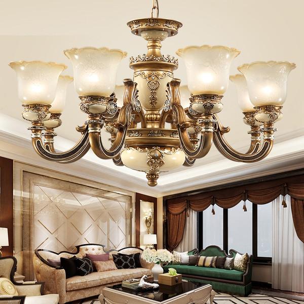 Großhandel Wohnzimmer Luxus Kronleuchter Pendelleuchte Beleuchtung  Restaurant Leuchten Schlafzimmer Chinesischen Kronleuchter Moderne Led  Kronleuchter ...