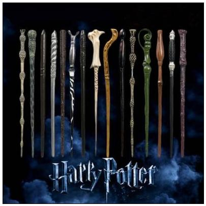 41 Styles Harry Potter Wand Magic Props Hogwarts Harry Potter Series Magic Wand Harry Potter Magical Wand With Gift Box CCA9102 100pcs