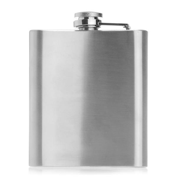 7oz Edelstahl Alkohol Getränk Liquor Flachmann Pocket Classic
