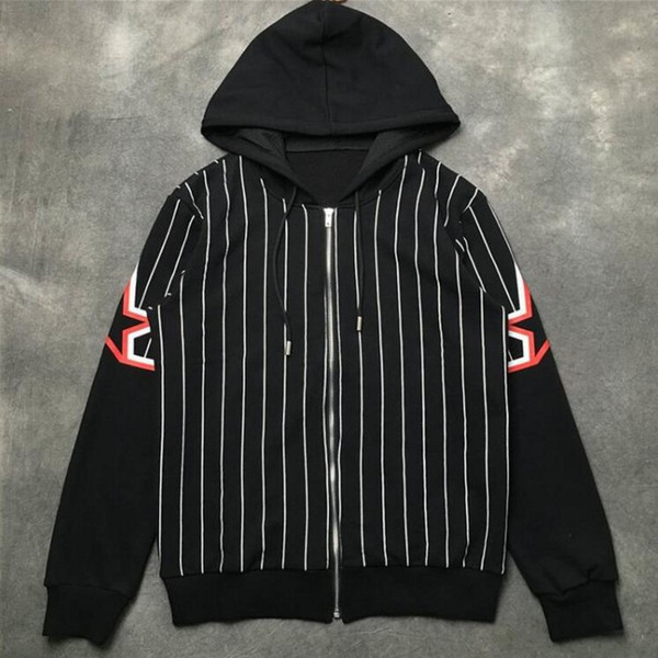 New Brand Sweatshirt Men jacke Hoodie Long Sleeven five-pointed star printing Autumn Sports Designer zipper Mens Clothes Plus Size Hoodies